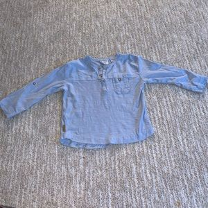 zara long sleeve tee size 12-18 m